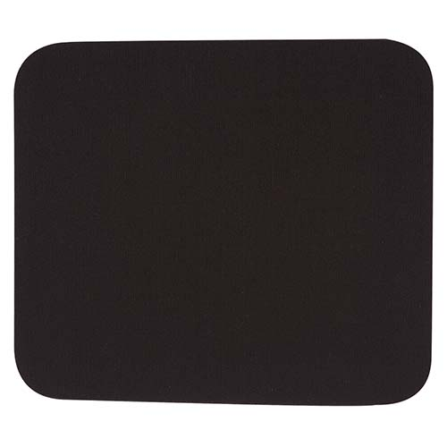 Foto del MOUSE PAD RECTANGULAR COLOR NEGRO